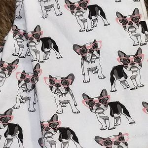 French Bulldog Kitchen Hand Towels Boston Terrier